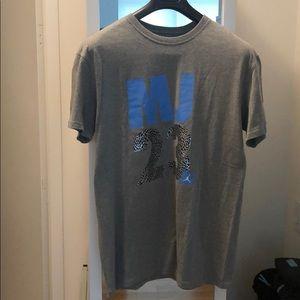 MJ 23 Air Jordan Nike grey T-shirt from early 2000